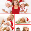 Christmas collage — Stock Photo #7540027