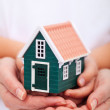 Protect your home - insurance concept — Stock Photo
