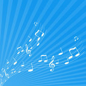 Illustration of tunes. Vector — Stock Vector