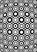 Retro black and white pattern. Vector — Stock Vector