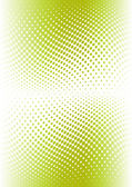 Green color halftone. Vector — Stock Vector