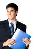 Business man on white — Stock Photo