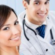 Stockfoto: Doctor and patient at office