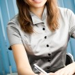 Businesswoman working at office — Stock Photo #7596012