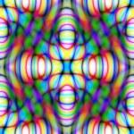 Постер, плакат: Diffractive seamless abstract
