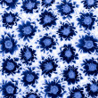 Blue Chrysanthemums — Stock Photo