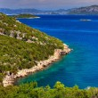 Beautiful bay in Croatia - Stock Photo