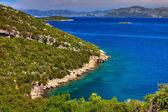 Beautiful bay in Croatia — Stock Photo