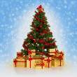 Christmas tree — Stock Photo #6866791