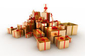Gifts box — Foto de Stock
