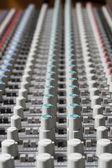 Mixer de áudio — Foto Stock