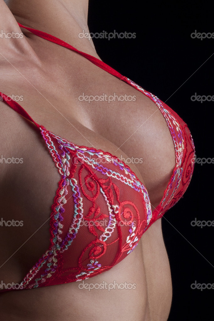 Female sexy breast — Foto Stock #7716853