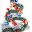 Royalty-Free Stock Photo: Tree shaped tinsel