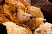 Toy antique bears — Stock Photo