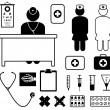 Medical Icon Set - Stock Vector