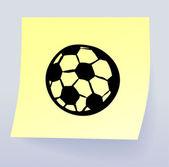 Palla di doodle — Vettoriale Stock