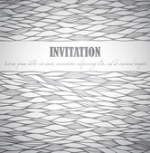 Invitation — Vector de stock