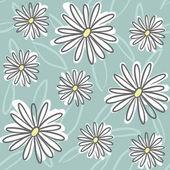 Doodle Flowers — Stock Vector