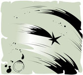 Komeetkuyruklu yıldız — Stok Vektör