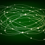 Glowing Stars — Stock Vector