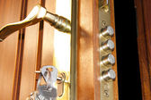 Door lock home security — Stock Photo