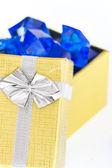 De giften van kerstmis en partijen — Stockfoto
