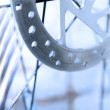 Alloy disc brake - Stock Photo