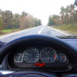 Steering wheel — Stockfoto #7128487