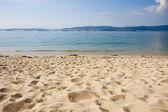 Beach, Spain, Galicia, bueu — Stock Photo