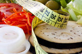 Weight loss, healthy diet — Stock Photo