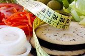 減量、健康的な食事 — ストック写真