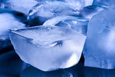 Ice, water ice cubes — Stock Photo