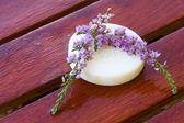 Lavender and soap — Fotografia Stock