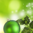 Christmas decorations, backgrounds, frames and cards — Stock Photo #7729151