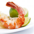 Stock Photo: Fresh seafood, shrimp