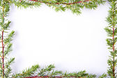 Christmas decorations, backgrounds, frames and cards — Stock Photo