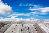 Terrasse dans le ciel — Photo