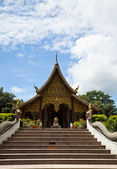Wat Phra That Pha Ngao ,Lanna style temple — Stock Photo