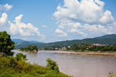 Mekong River view — Stock Photo