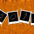 2012 year vector — Stock Photo