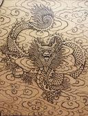 Dragon painting — Stock Photo