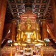 Golden Buddhin temple — Stock Photo #7470718