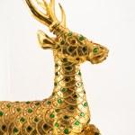 cervo dourado — Foto Stock