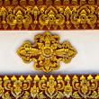 Stock Photo: Thai stucco pattern