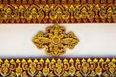 Thai stucco pattern — Stock Photo