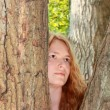Dryad of the tree — Stockfoto