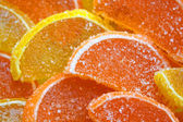 Citrus dessert — Stock Photo