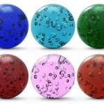 Set of glass spheres — Stock Photo #7256498