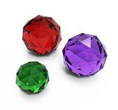 Beautiful gems — Stock Photo