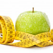 Apple diet — Stockfoto